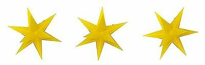 Busch 5415 NEW ILLUMINATED CHRISTMAS GOLD STAR DECORATIONS LEDS • 29.09€