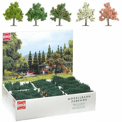 Busch 6331 NEW HO BOX 64 FRUIT AND BLOOMING TREES • 170.23€