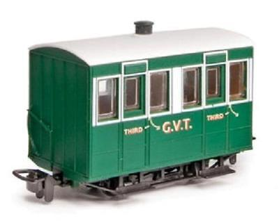 PECO GR-500  OO-9 SCALE Glyn Valley Tramway 4-wheel Enclosed Side Coach • 28.12€