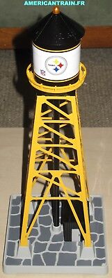 Château D'eau / Industrial Water Tower Pittsburgh Steelers échelle O MTH • 49€