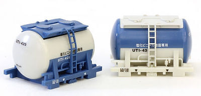 TOMIX 3114 N Scale Gauge Train 2 CONTAINERS Citerne Wagon Type UT1 Railway Model • 16.90€