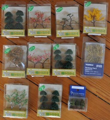 Lot DECOR ACCESSORIES N Scale Gauge 29 ARBRES TREES Train Railway Decoration • 89.90€