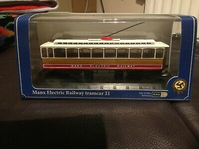OO Guage Isle Of Man Manx Electric Railway Tram No 21 • 30.97€