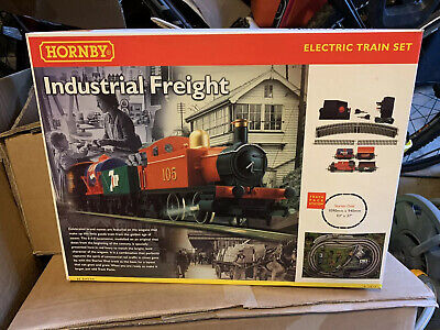 Hornby Industrial Freight Boxed Set In Excellent Condition Including Track Mat • 55.86€