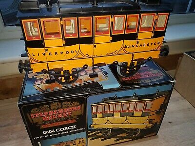 Hornby Stephensons Steam Rocket 3.5  Gauge Coach. G104 Unnamed But Has Transfers • 227.29€