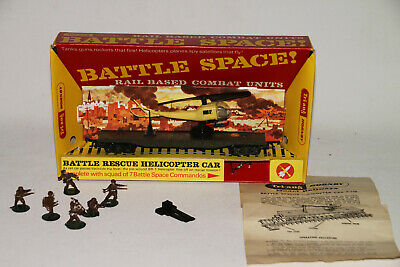 Triang Hornby Battle Space R128K - Helicopter Rescue Car - Mint In Box • 58.09€
