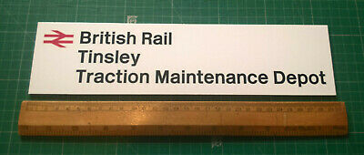 BR Tinsley TMD Sign - 300mm Wide - All Depots Available • 11.05€