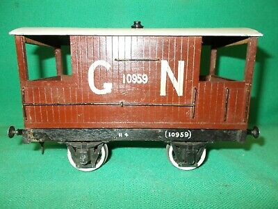 BUTCHERS / BASSETT LOWKE Style Gauge 2 G.N. GOODS BRAKE VAN Circa 1910 2  Gauge  • 45€