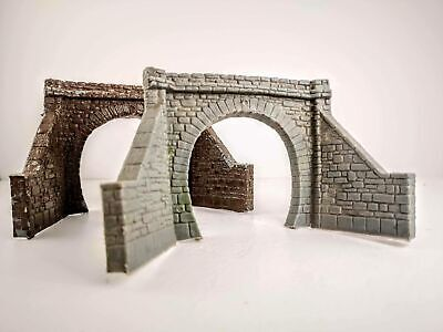 OO Gauge Tunnel Mouths Single Entry • 15.66€