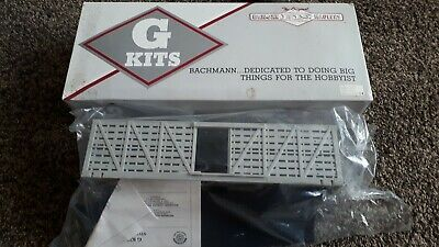 Bachmann Big Haulers G Scale Gauge Kit Undecorated Stock Car Sealed 98909 • 19.02€