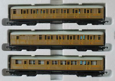 3 Hornby Teak Coaches Lner  Flying Scotsman Mallard 22356 22357 4237 Excellent • 38.91€