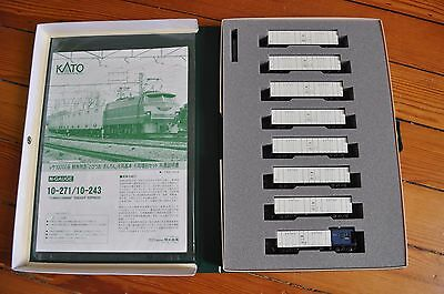 KATO 10-271 Set Coffret N Scale Gauge TOBIUO GINRIN FREIGHT EXPRESS Marchandises • 329€