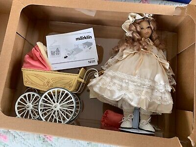 Marklin  Heidi Otto Doll With Carriage Item 16111 • 114.46€