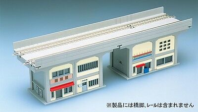 TOMIX 4103 N Scale Gauge Train BUILDING STRUCTURES UNDER OVERHEAD RAILWAY Type A • 39.90€