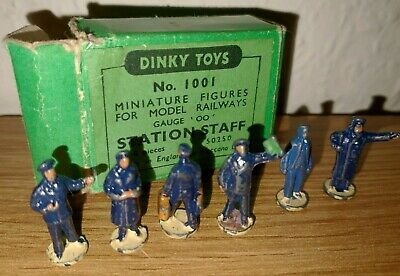Dinky Die Cast Figures - No 1001 - Station Staff - Boxed • 15.72€