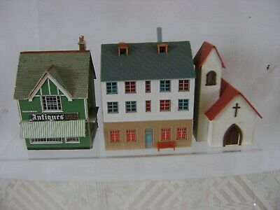 Super Kits 3 Assorted Oo Gauge Assembled All Good Condition In A Good Safe Box • 22.46€