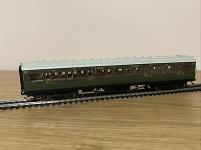 Hornby R4297e Sr Maunsell Olive Corridor 3rd Coach '2351' - 00 Gauge • 33.69€