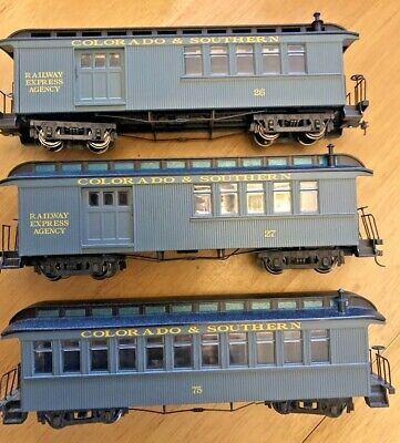 Bachmann ON30 Colorado & Southern Combine Coaches - 0N30 • 56.67€
