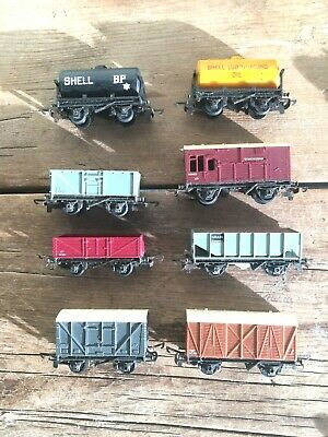 Triang Tt Gauge Oil  Tankers  And Wagons Unboxed • 13.87€