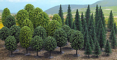 Busch 6491 NEW OO/HO BUDGET 50 MIXED TREES • 45.21€