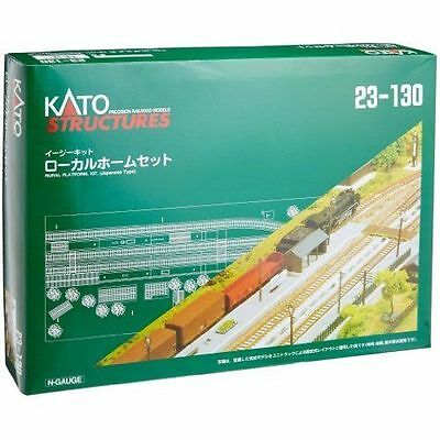 KATO 23-130 N Scale Gauge TRAIN RURAL PLATFORM KIT Japanese Type Railway Model • 99.90€