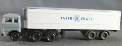 Wiking Ech N 1/160 Camion Mercedes Remorque Inter Frost • 8€