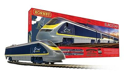 Hornby R1176 Eurostar Lot Train Électrique Locomotive Paquet Jauge D'Oo • 175.92€