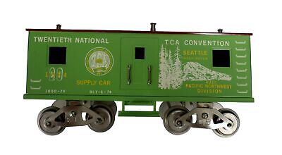 Mccoy 1000-74 National Tca Train Standard Echelle Vert Convention D Voiture 1974 • 136.62€