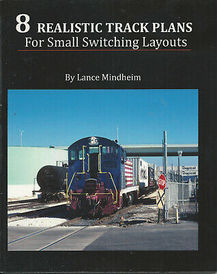 8 REALISTIC TRACK PLANS For Small Switching Layouts • 25€