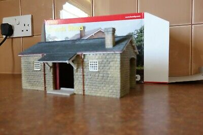 Hornby 00 Gauge Stone Goods Shed In Box In Excellent Condition. • 28.25€