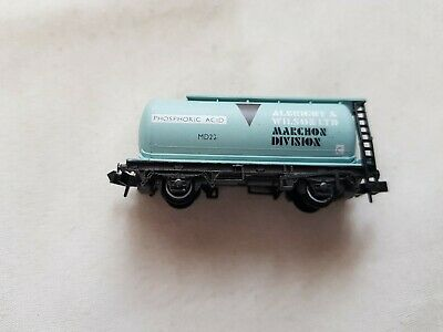 A Model Railway German British Tanker Wagon In N Gauge By Peco Unboxed  • 7.39€