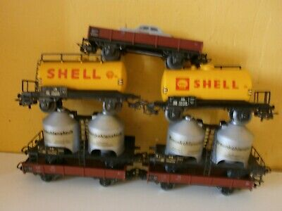 Marklin Wagons 4502 Shell 4511 Db • 32€