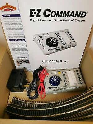 Bachmann 36-500 E-Z DCC Controller, Cables, OO Gauge Track, Full Instructions • 36.86€