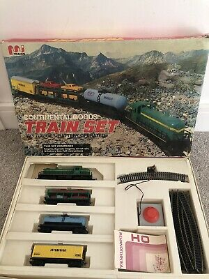 Continental Goods Battery Operated Train Set Yugoslavia Vintage Untested • 225.01€