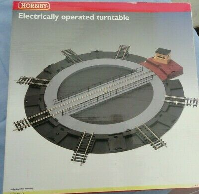 Hornby 'oo' R070 Electrically Operated Turntable Boxed • 50.62€