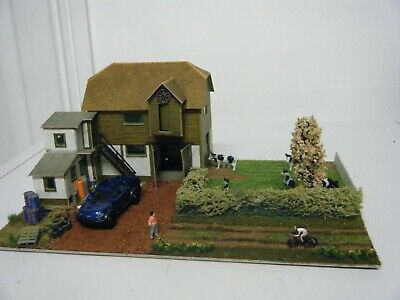 Model Railway Diorama Of Superquick Cow Farm  00 Gauge  • 28.11€