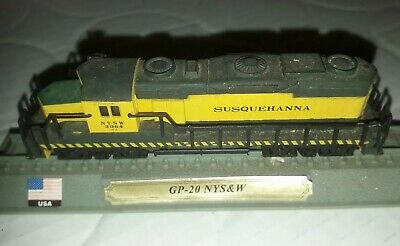 Del Prado MINIATURE TRAIN USA Locomotive N Rail Collection 1/160 GP 20 NYS & W • 4.49€
