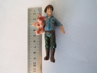 Model Railway Farmer Figure And Pig 1:25 G Scale • 6.79€