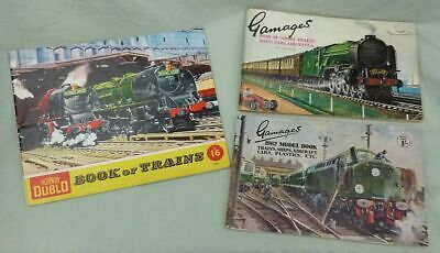 Hornby Dublo  Book Of Trains 1959  And 2 Gamages Catalogues • 1.25€
