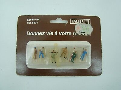 Faller - Ho - Figurines - Ouvriers Divers - Reference: 8205 - Neuf - Ancien - • 9.90€
