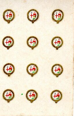 Triang/Hornby GWR 1903-on Garter Crests X 12 - ZHH03  • 7.99€