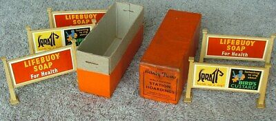 HORNBY 0 Gauge Station Hoardings = Exc Cond, Boxed • 54.71€