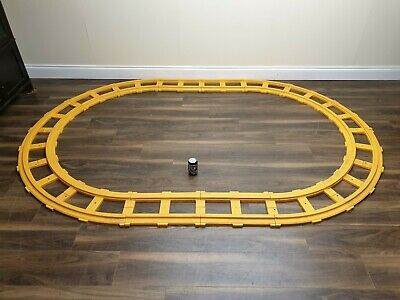 Large Gauge Clip Together Plastic Yellow Railway Track  • 33.62€