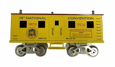 Mccoy 1000-73 19st National Tca Train 6-73 Standard Scale Jaune Convention 1973 • 178.96€
