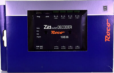 Roco 10836 - Z21 Switch Decoder • 69.90€