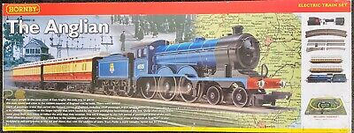 Hornby The Anglian Electric Train Set 00 Gauge Rare Good Condition • 139.65€