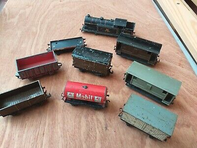 Job Lot Of Hornby Dublo 3 Rail Wagons &  Loco Body     SPARES & REPAIR • 4.41€