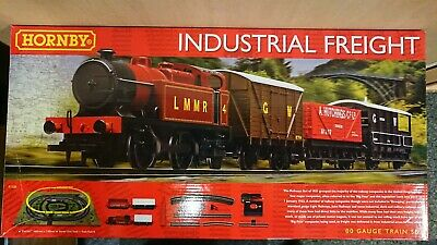 RARE HORNBY R1228 Industrial Freight Electric Train Set NEW • 100.04€