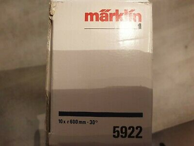 Lot De 10 Rails Courbes Marklin Ref 5922 Echelle 1 • 40€