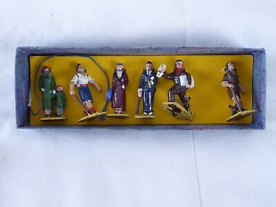 Vintage Meccano Dinky Toys No. 3 Railway Passengers - 6 Figures - Pre-owned (2) • 109.33€